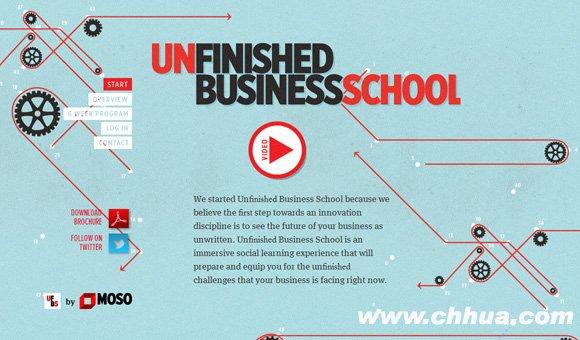 Un?nished Business School