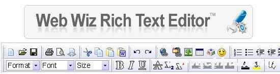 WebWiz RichTextEditor