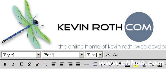 Kevin Roth's Cross Browser Rich Text Editor