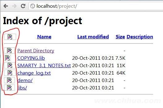 WampServer2.2 localhost文件图标不显示解决办法