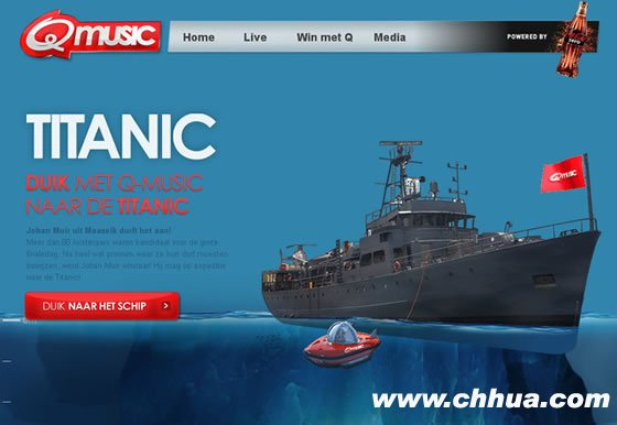 Q music Titanic