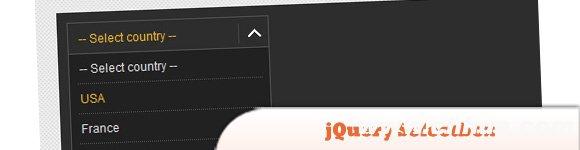 jQuery的选择框