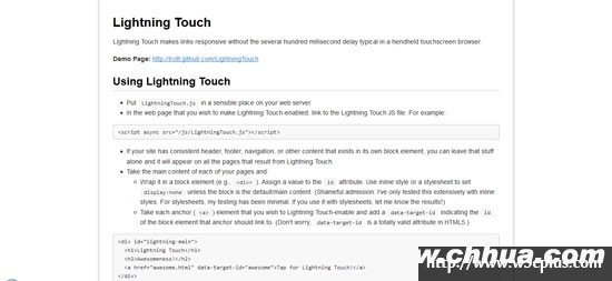 Lightning Touch