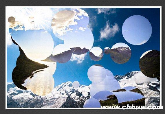 jQuery图片滑动切换插件 - 泡泡效果