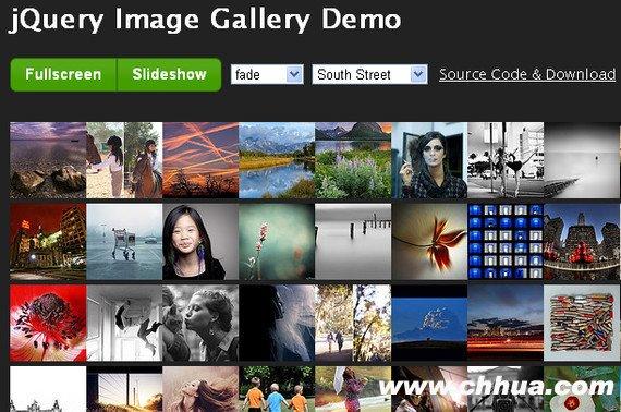jQuery图片滑动切换插件 -jQuery Image Gallery