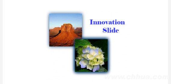 jQuery图片滑动切换插件 - Innovation Slide