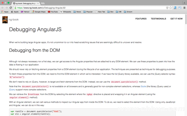 best angularJS tools for web developers for 2015-  ng-book