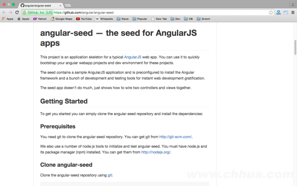 best angularJS tools for web developers for 2015 - angular-seed