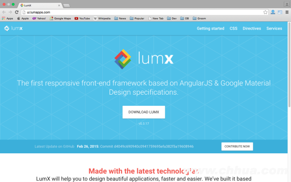 best angularJS tools for web developers for 2015 - lumx